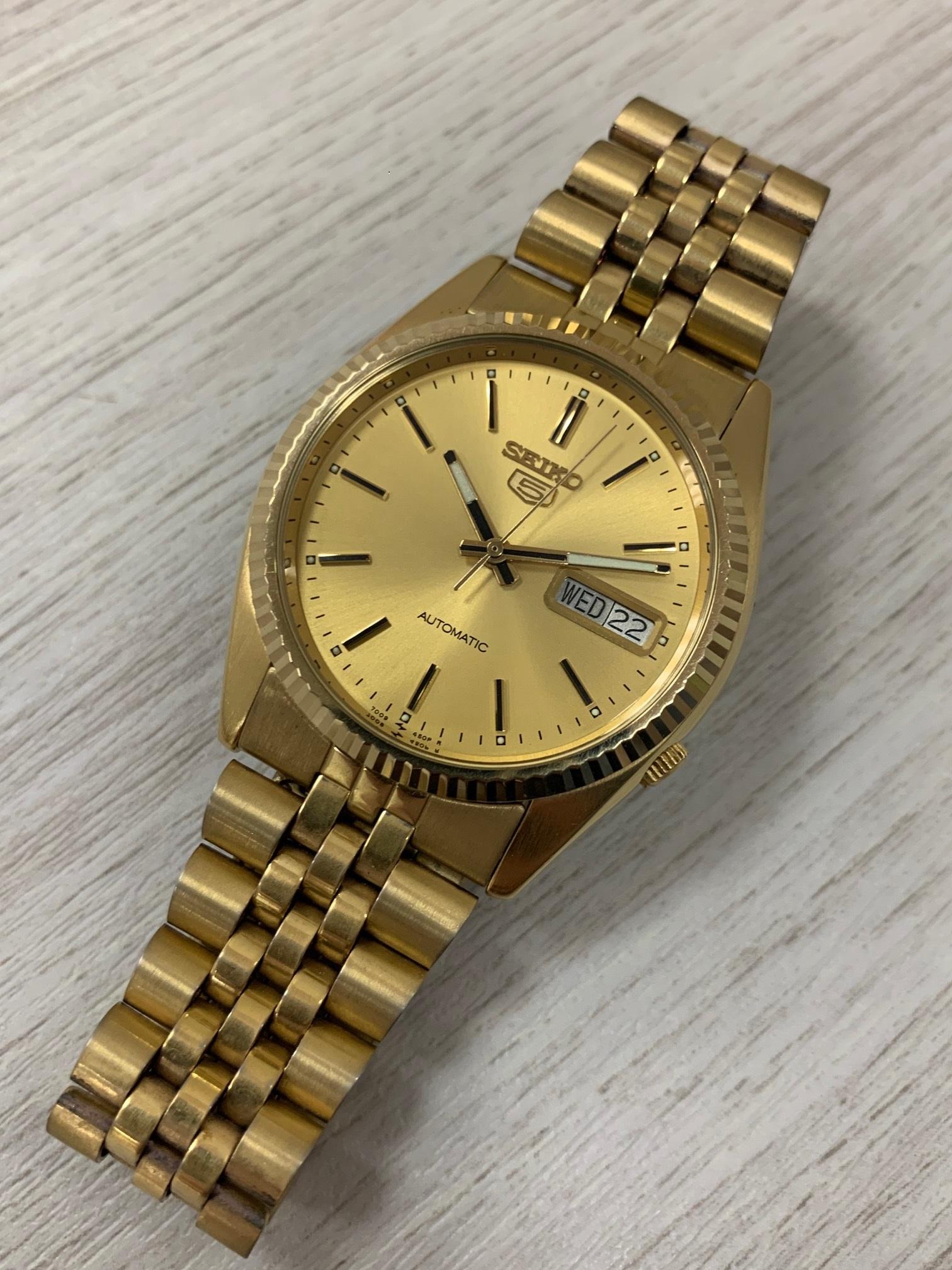 買取わかばイオン藤沢湘南ライフタウン店セイコーオートマ時計高価買取させて頂きました!