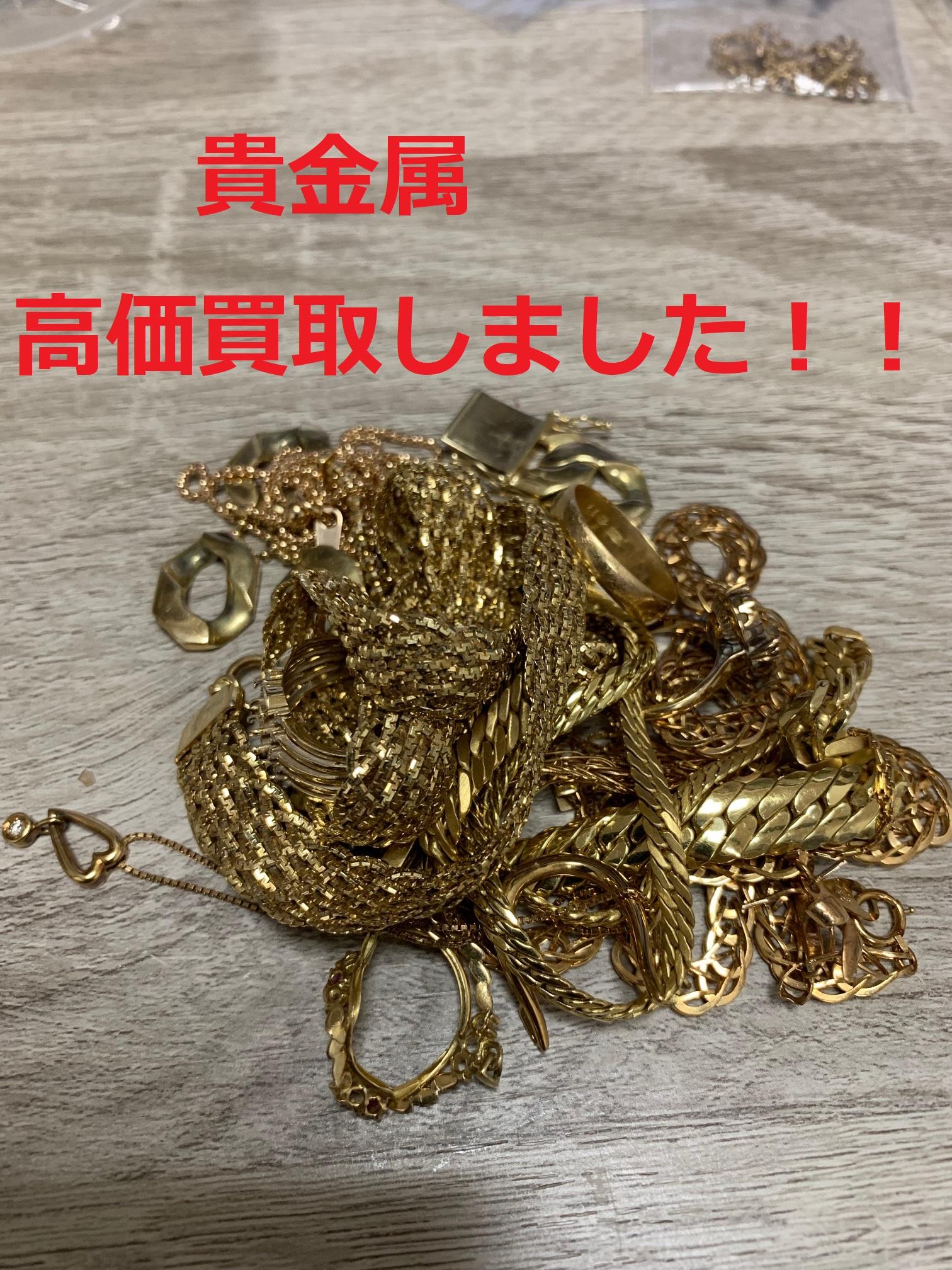 買取わかばイオン藤沢湘南ライフタウン店貴金属K18・プラチナ製・銀製高価買取させて頂きました!メッキ製品・海外製品なども大大大歓迎です!!