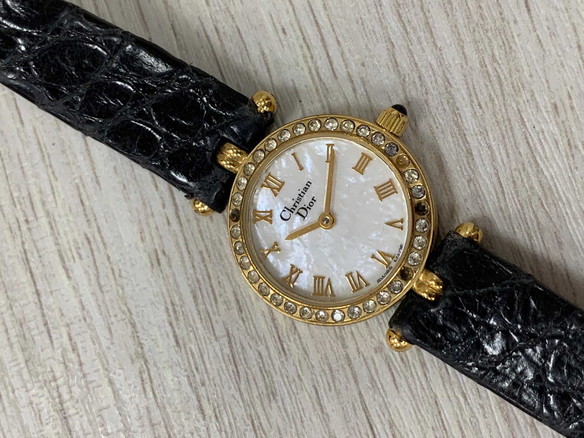 クリスチャンディオール Dior  カラーストーンレディース時計